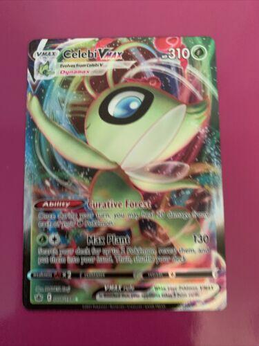 Celebi VMAX 008/198 Full Art NM/M Chilling Reign Pokemon Card
