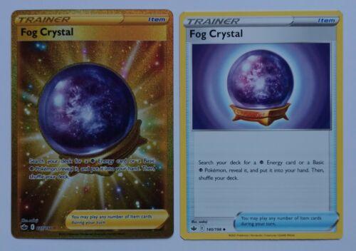 Pokemon Fog Crystal Trainer Secret Rare 227/198 Chilling Reign Full Art