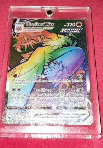 Blaziken VMAX 200/198 - Chilling Reign - Pokemon TCG Card - NM
