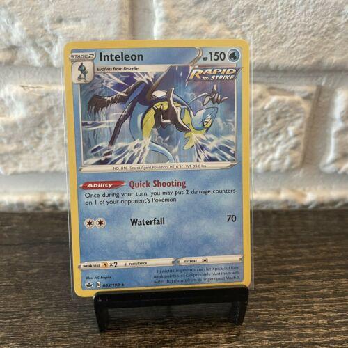 Inteleon Holo 043/198 NM/M Chilling Reign Pokemon Card