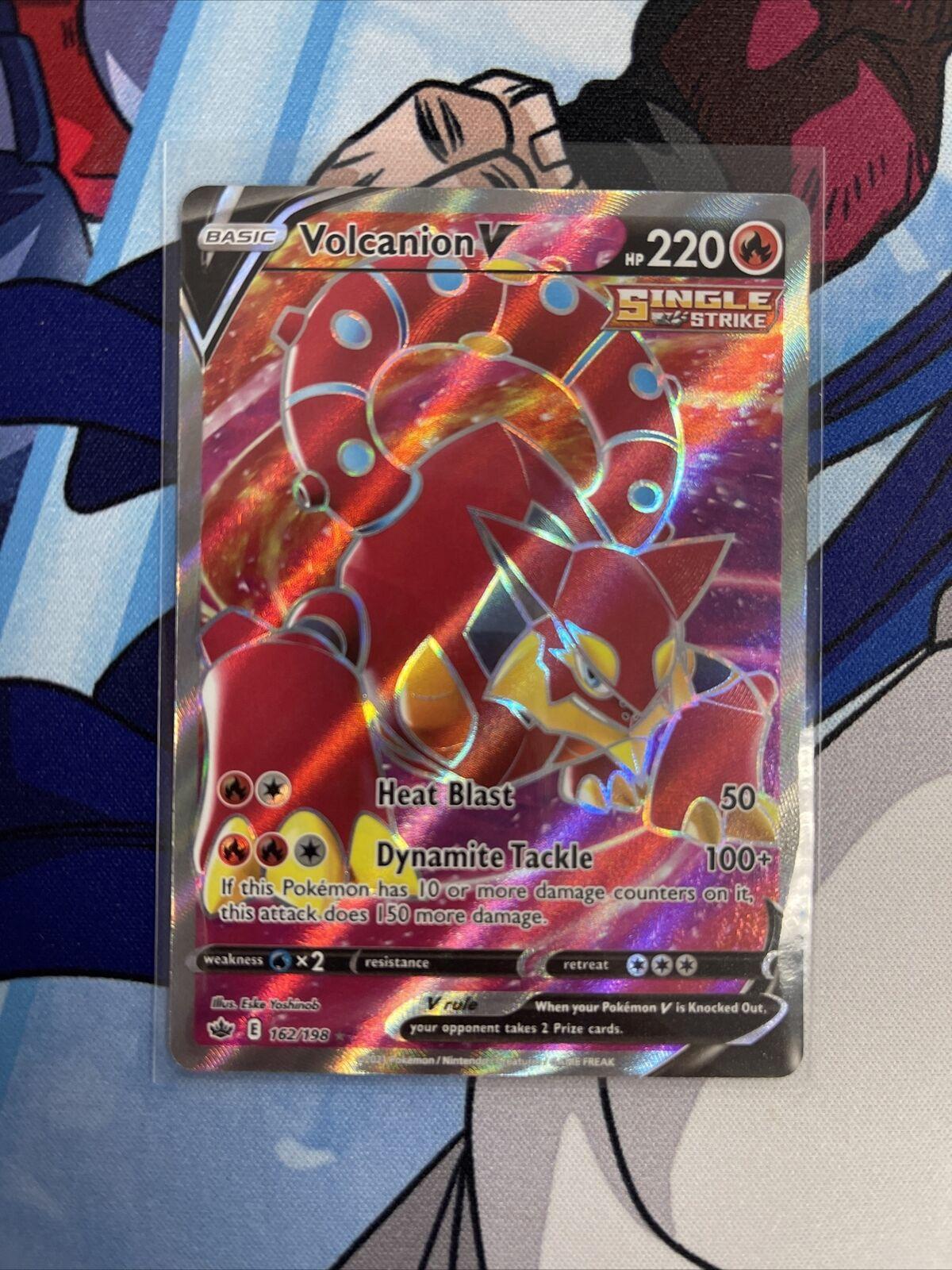 Volcanion V 162/198 - Chilling Reign - Pokemon TCG Card - NM