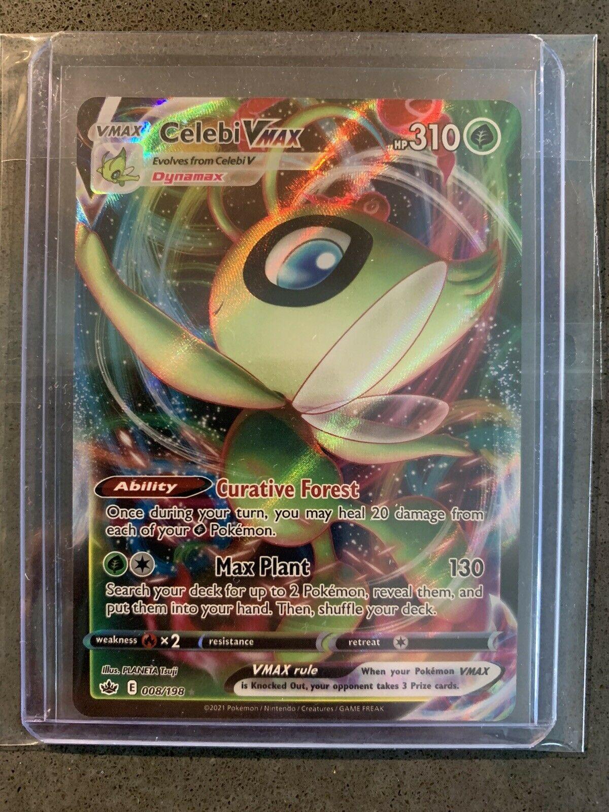 Celebi VMAX - 008/198 - Chilling Reign - Pokémon TCG - PSA 10 ?