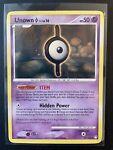 Pokémon Card- Unown I 37/123 (Mysterious Treasures, 2007) Non-Holo, NEAR MINT