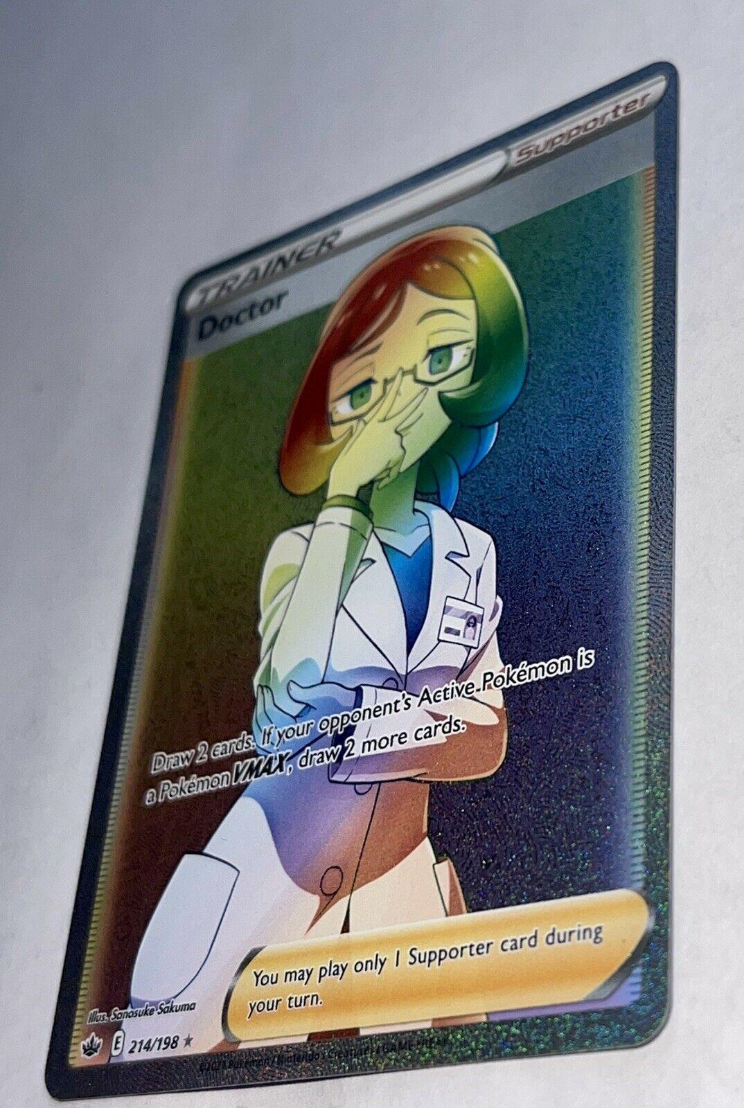Doctor Rainbow Rare Pokémon Chilling Reign 214/198 - Image 2