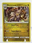 Pokémon KOMMO-O 54/70 Holo Rare Dragon Majesty - Near Mint Condition