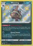 Galarian Weezing SV077 NM Shining Fates Pokemon Card Tracked Shipping