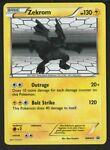 Zekrom BW005 Black Star Promo Pokemon Card- Black & White Promo