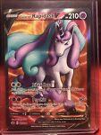 Galarian Rapidash V - 167/198 Full Art Ultra Rare Pokemon Chilling Reign