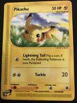 Pokemon Card Pikachu Expedition Common 124/165