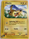 Pikachu - 124/165 - Common NM Expedition Pokemon Card