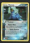 Team Aqua's Walrein 6/95 Team Magma vs Team Aqua Pokemon Card 2004