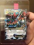 Pokemon TCG Card Mega M Scizor EX 77/122 XY Breakpoint Ultra Rare Full Art Holo