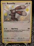 Pokémon TCG Bunnelby Shining Fates SV097/SV122 Holo Shiny Holo Rare