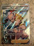 Pokemon Card : RAPID STRIKE STYLE MUSTARD 162/163 Battle Styles Holo Full Art NM