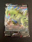 TYRANITAR V Full Art 097/163 Battle Styles Pokemon Card Ultra Rare Mint
