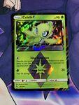 Celebi Prism Star 19/214 - Lost Thunder - Holo Pokemon Card - Near Mint (NM)