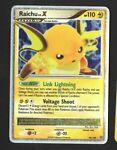 Raichu LV. X DP Stormfront 99/100 Ultra Rare Holo Foil Pokemon TCG - 2008