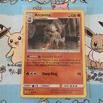 Arcanine 6/18 Pokemon Trading Card Detective Pikachu Holo Rare 2019 TCG