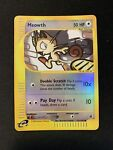Pokemon Meowth 121/165 Common Reverse Holo Expedition Base Set E Series E Reader