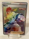 Bruno 172/163 Secret Rare Rainbow Rare Holo Pokémon Battle Styles NM