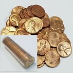 1973 S Lincoln Memorial Cent Penny 1 Roll (50) 1c BU Uncirculated Coins X/73S32