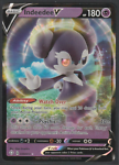 Indeedee V 039/072 Ultra Rare Shining Fates Pokemon Card Mint