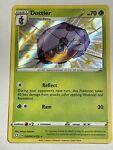 Dottler SV008/SV122 Pokemon Shining Fates Shiny Vault Shiny Holo Rare NM