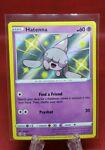Hatenna 2021 Pokemon TCG Shining Fates Shiny Holo Rare #SV054/SV122 Near Mint