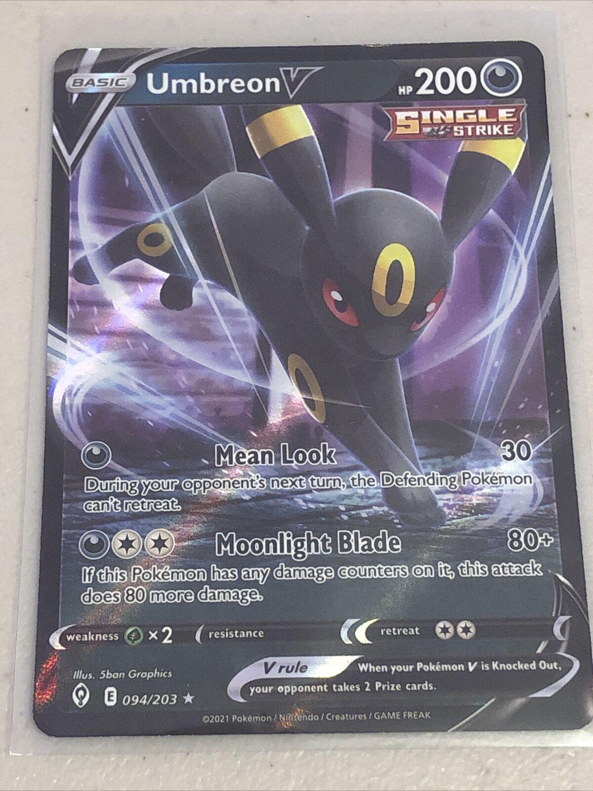 Pokémon TCG - Evolving Skies - Umbreon V - 094/203