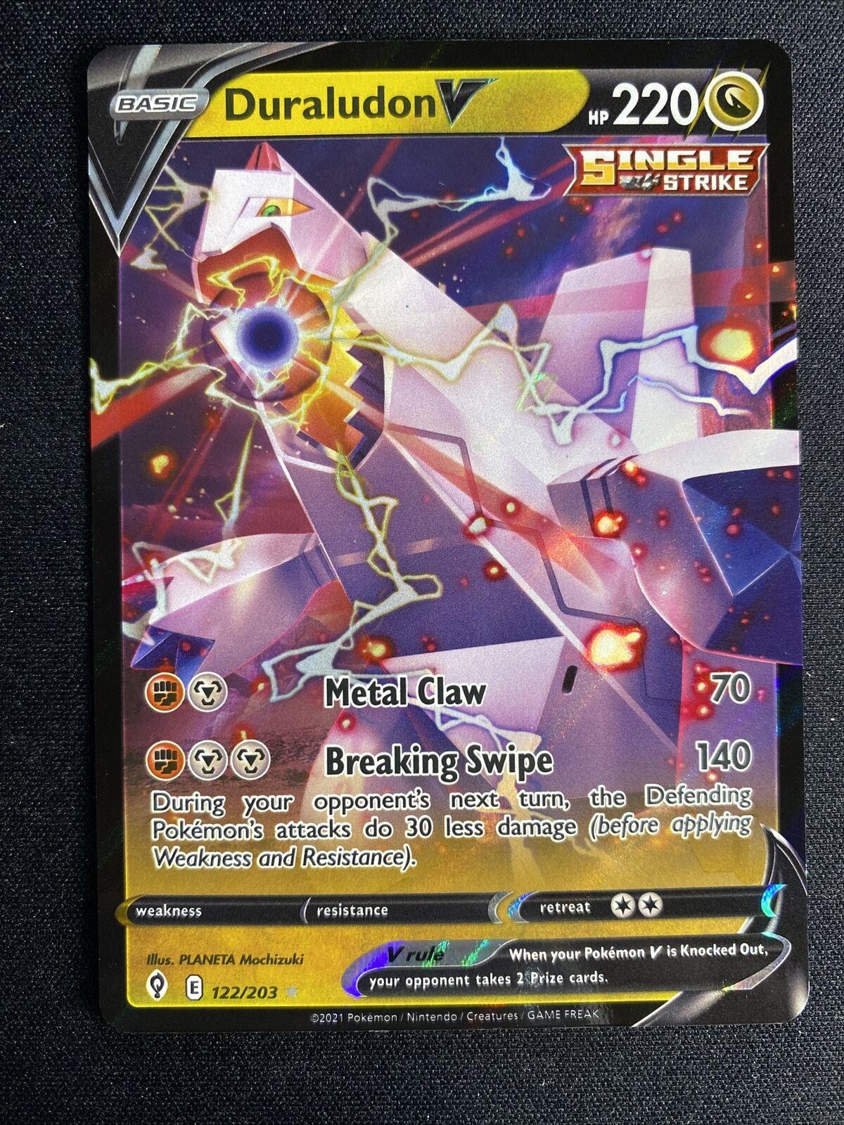 Duraludon V 122/203 Evolving Skies NM Pokemon Card