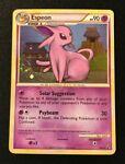 Espeon 2/90 Undaunted Holo Rare Pokemon Card 2010 with Swirl