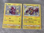 Pokemon TCG Shining Fates SHINY - Toxel SV041/SV122 + Toxtricity SV042/SV122 NM