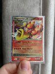 Pokemon Card - Mysterious Treasures Magmortar Lv.X 123/123 Near Mint - rare