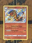 Centiskorch SV019/SV122 Shining Fates Shiny Vault Holo Rare Pokemon TCG NM/Mint