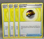 Pokemon Level Ball Trainer Playset (X4 Cards) Battle Styles 129/163