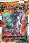Pokemon TCG Galarian Rapidash V - 167/198 Full Art Chilling Reign NM/M