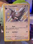 Corvisquire SV102/122 Shiny Holo Rare Pokémon Shining Fates NM/Mint