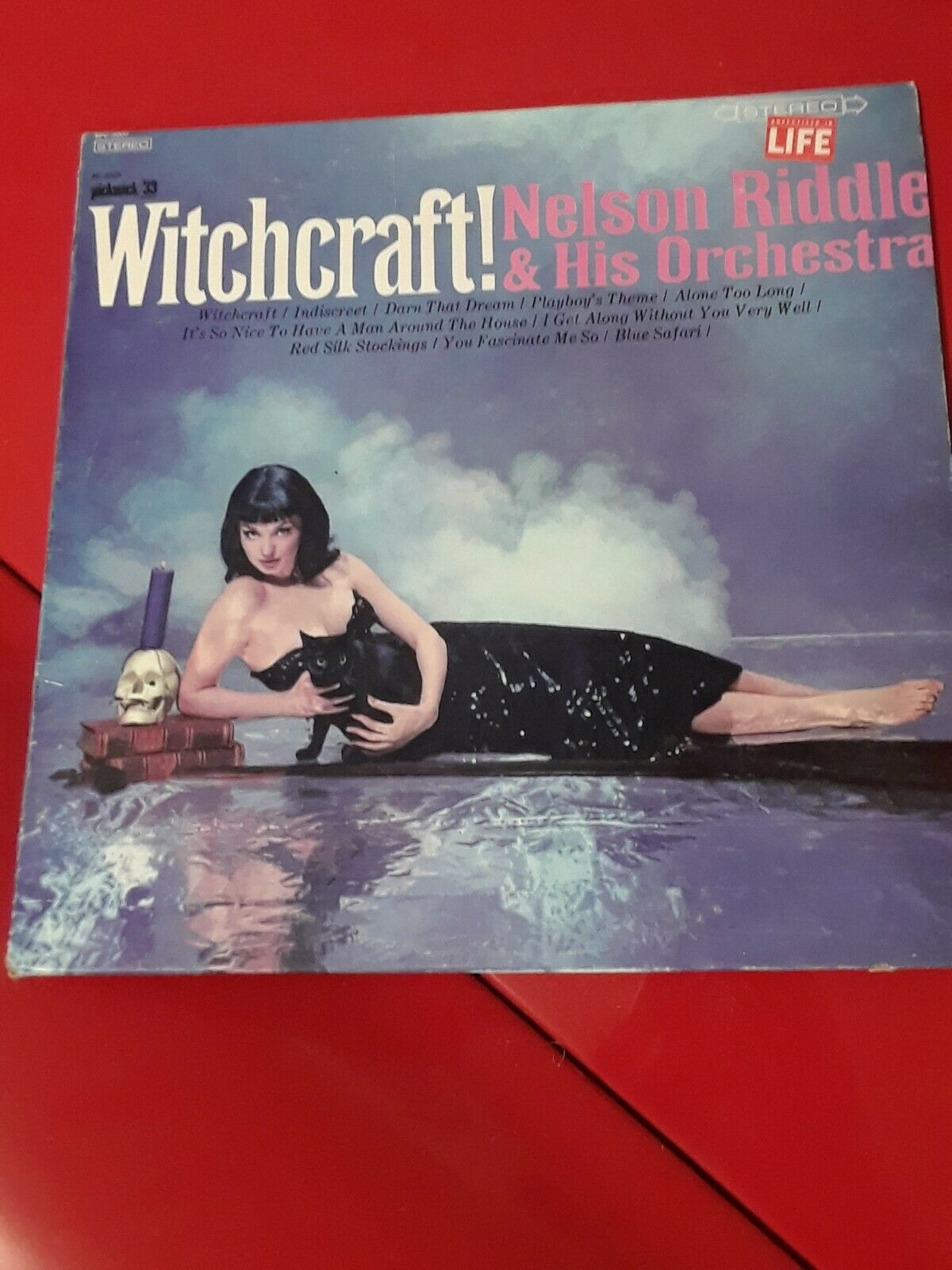 VINTAGE WHITCHCRAFT! NELSON RIDDLE AND HIS ORCHESTRA VINYL LP HALLOWEEN RECORD
