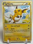 Raichu - 33/90 - Undaunted - HGSS - Uncommon - Pokemon TCG Card - NM