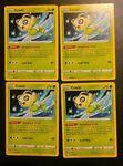 Pokemon Playset 4x Celebi 003/072 - SWSH Shining Fates - Non Holo Rare