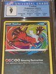CGC 9 Mint Yveltal 046/072 Amazing Rare Shining Fates Pokemon Card PSA BGS