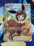 FULL ART Poke Kid Shining Fates Trainer Supporter 070/072 Pokemon Card NM/Mint