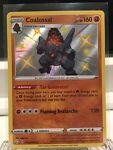 Coalossal SV069/SV122 Shining Fates Shiny Holo Rare Pokemon Card