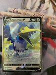 Cramorant V 054/072 Full Art Holo Ultra Rare - 2021 Pokemon Shining Fates NM