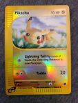 Pikachu (124/165) - Expedition - Reverse Holo NM