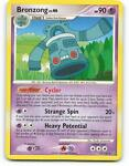 13/100   Bronzong   Stormfront   Pokemon Card   Excellent