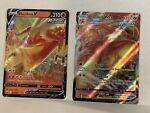 Blaziken VMAX 021/198 & V 020/198 Chilling Reign Pokémon TCG M/NM