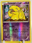 Drowzee - 50/122 - X&Y Breakpoint - Reverse Holo - Pokémon TCG Card - NM