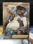 Pokemon TCG Card Rose 071/072 Full Art Ultra Rare Trainer 2021 Shining Fates N/M