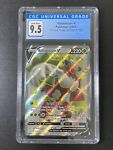 Rillaboom V Shining Fates SV105/SV122 Hidden CGC Graded 9.5 Pokemon Cards Slab